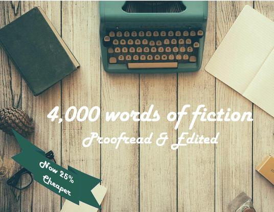 I will expertly proofread and edit up to 4,000 words of your short story or article