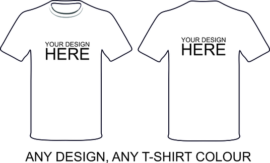 I will mock up your t-shirt design