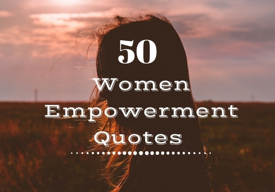 I will Design 50 Women Empowerment Quotes With Your Logo