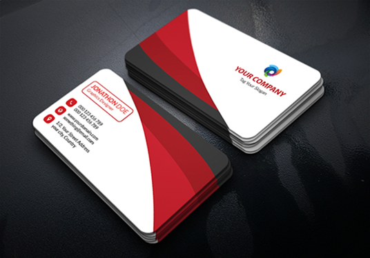 I will Design Professional, Creative, Unique, Minimal business card and brand identity for yours