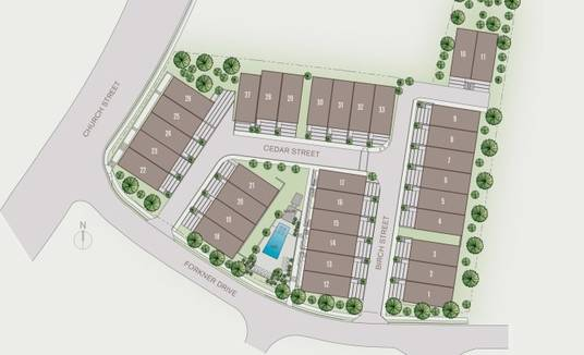 render any real estate site plan