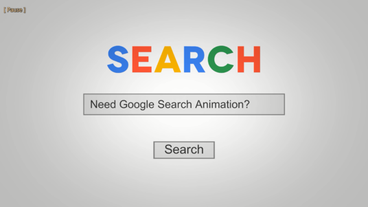 I will Make Google Search Animation With Your Logo Or Business