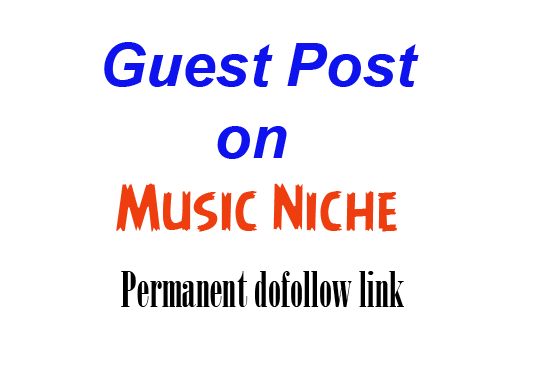 I will guest post on my music blog