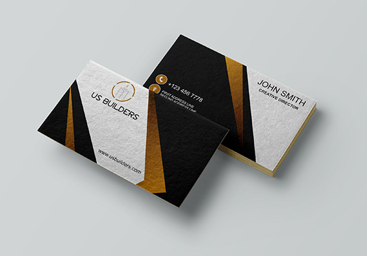 I will Create 2 Different Business Card Designs With One Logo
