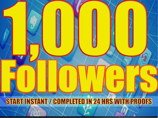 I will give You 1,000+Fast and SAFE Twitter Followers