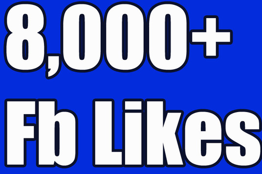 I will give you 8000+ Real Active Nondrop High Quality facebook page likes