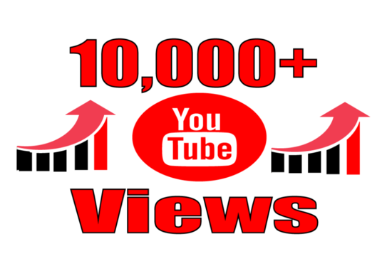 I will provide you high quality 10,000 YouTube Video views