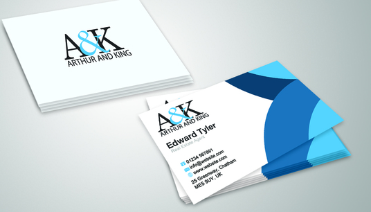 I will design you a business card