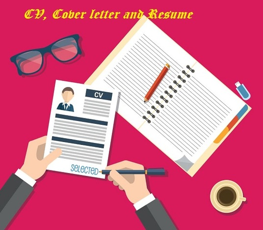 I will professionally design and write CVs, Resumes and Cover letters