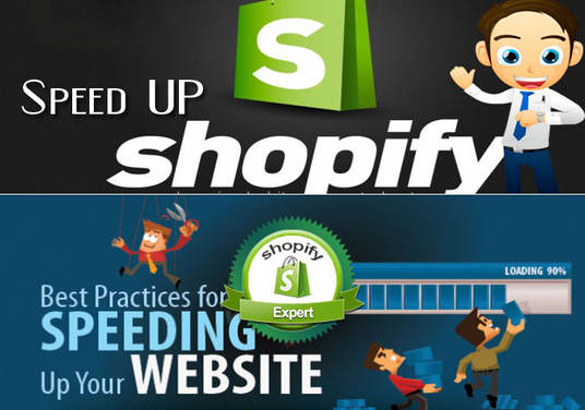 I will optimize your store to load faster