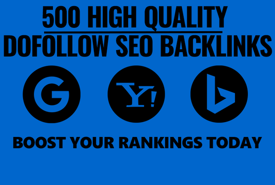 I will Create 500 Dofollow Backlinks