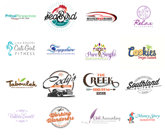 I will Design 3 Awesome Vector LOGOs For Your Business