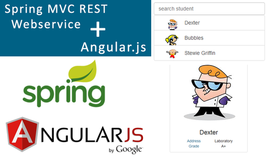 I will Develop Angular and Java Website using Spring MVC