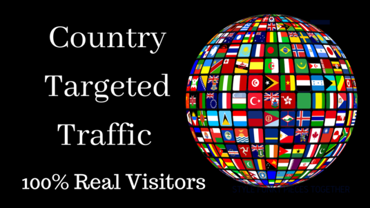 I will give you Country & Niche targeted Traffic