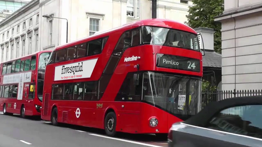 I will add your Logo or Text on London route master billboard