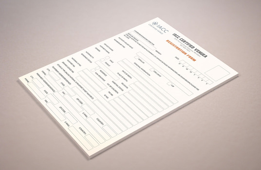 I will Design Registration Form For Your Business