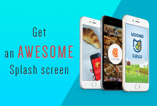 I will design Splash Screen to Mobile APP