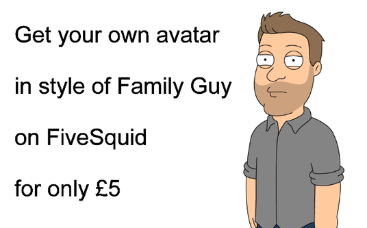 I will create a FAMILY GUY style avatar of your likeness