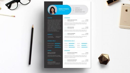 design a RESUME and a COVER LETTER