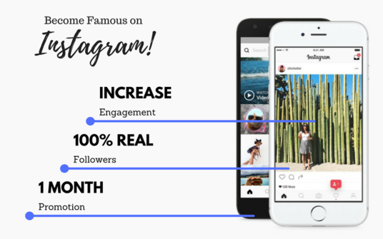 I will Grow And Manage Your Instagram Organically