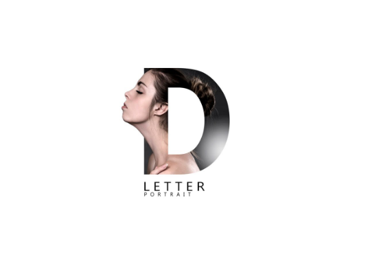 I will Make Cool Letter Portrait For You