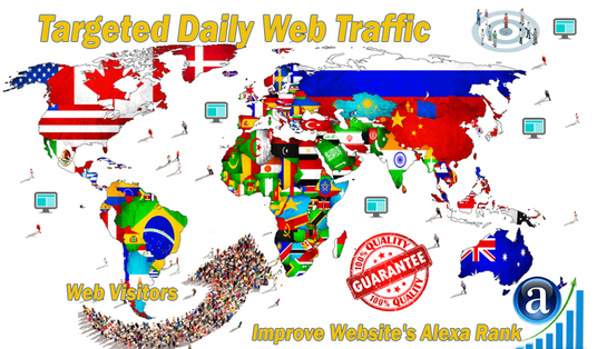 I will deliver 15000 Targeted Daily  Web Traffic for 30 days