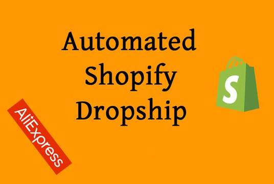 Create Automated Shopify Aliexpress Dropshipping Store