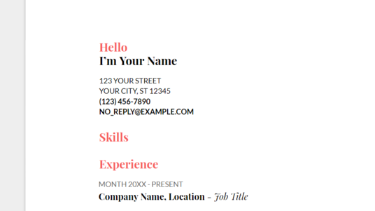 I will edit or rewrite your CV