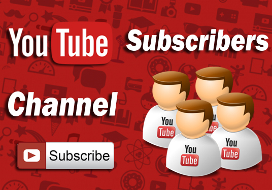 I will send 400 Non Drop Youtube Subscribers, Real High Quality Subscribers for your channel