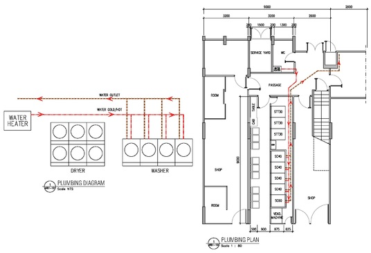 draw Mechanical Electrical Plumbing and HVAC drawing for your project