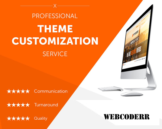 I will Customize Wordpress  themes