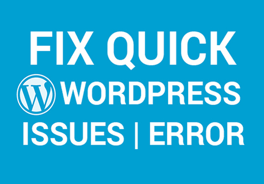 I will fix html5, css3 and WordPress issues