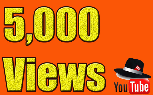 I will give 5000+ YouTube Views Lifetime guarantee in 48 Hrs -Great Service  Fast Delivery  High
