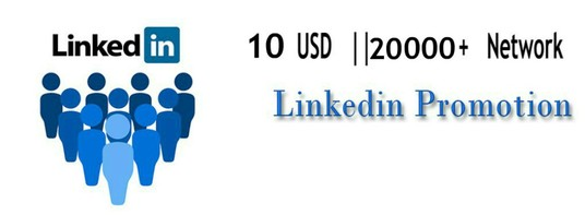 I will Promote You Or Your Content Over 21k Linkedin Network