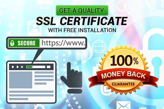 I will install & add SSL certificate for secure your website