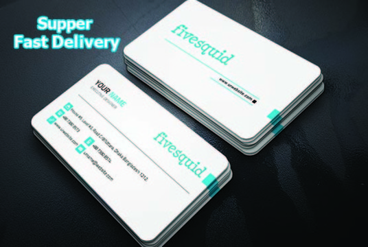 I will Create 4 Different Business Card Design