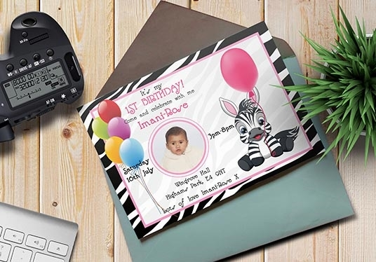 I will design all kinds of invitation cards