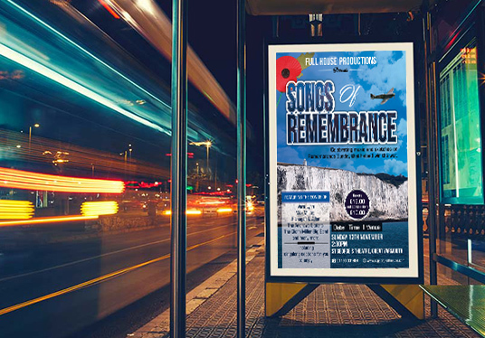 design any kind of event posters or flyers