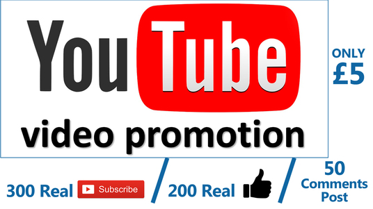 I will Provide Real 100 Original Youtube Subscribers, 100 Like & 50 Comments