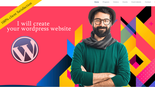 I will create your wordpress website in 24 hours