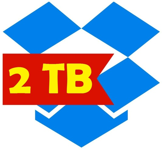 I will provide 2 TB dropbox space or upgrade existing account