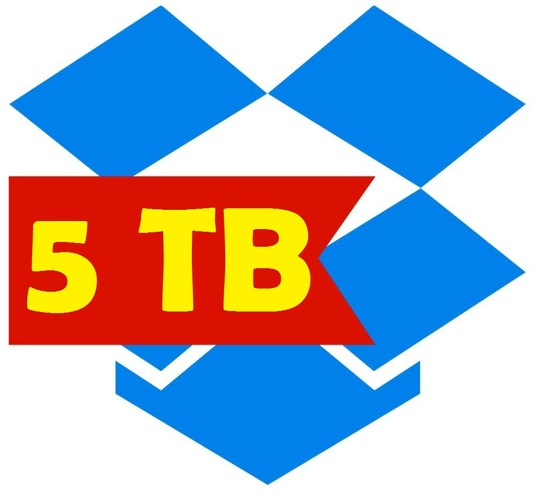 I will provide 5 TB dropbox storage with changeable email and password