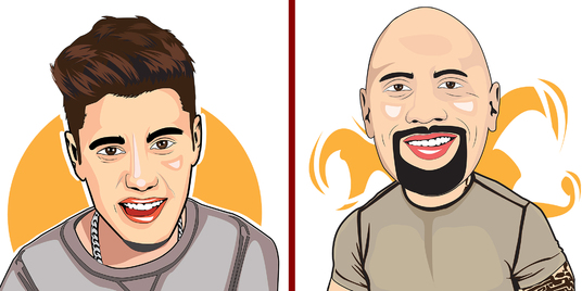 draw Cartoon Caricature Avatar of you from photo