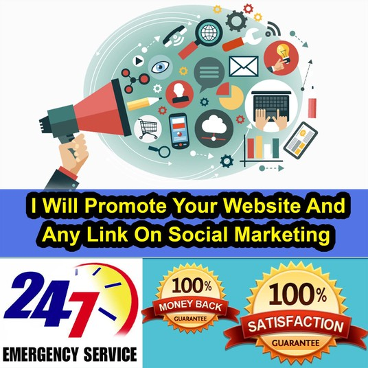 I will Promote Your Product, Service, Website Link