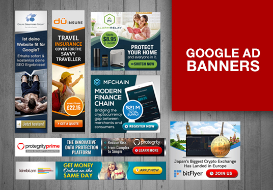 I will design Google Ad Banner