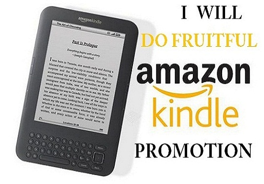 I will do fruitful kindle book promotion