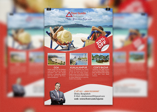 I will design creative flyer and postcard