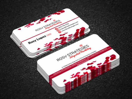 I will design a professional business card for you