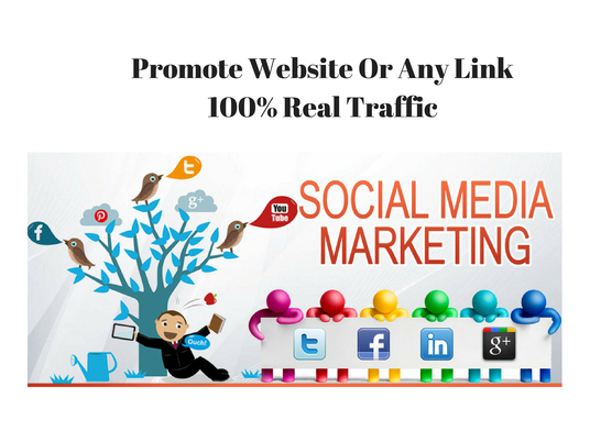 I will Promote Your Website And Any Link On Social Marketing