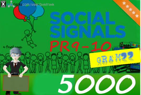 I will do Social Signals Backlink from Social Media Site twitter, linkedin, Google Plus